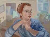 Земскова-Анна-Автопортрет