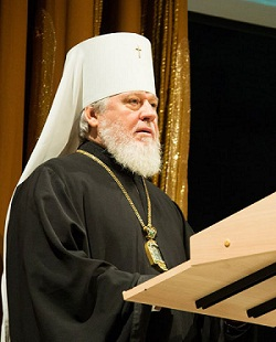 Митрополит Самарский и Сызранский Сергий открывает съезд Православных врачей.
